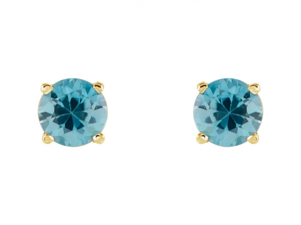 Diamond Earringany Gemstone Earrings Shire Topaz Aquamarine Morganite Ruby Genuine Blue Zircon