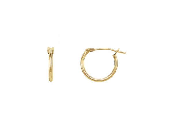 14K Yellow Gold Earrings by Stuller
