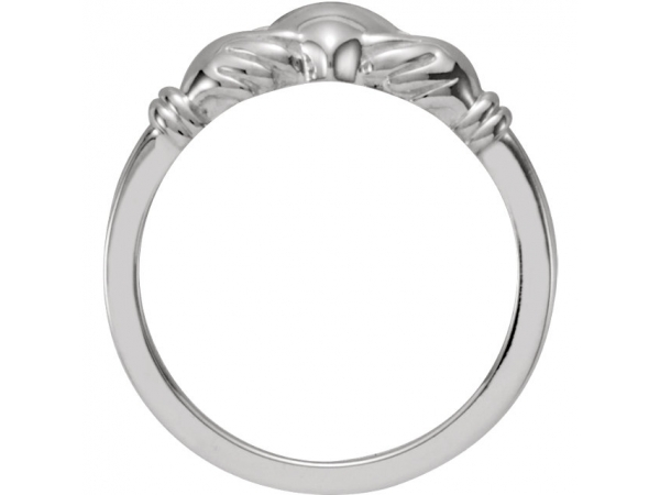 Fashion Rings - Youth Claddagh Ring - image #2