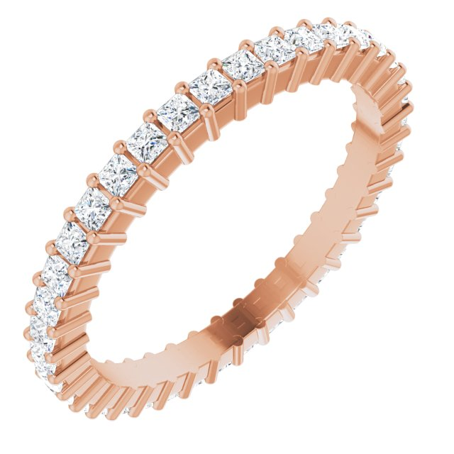 Anniversary Bands - 14K Rose Gold Anniversary Band