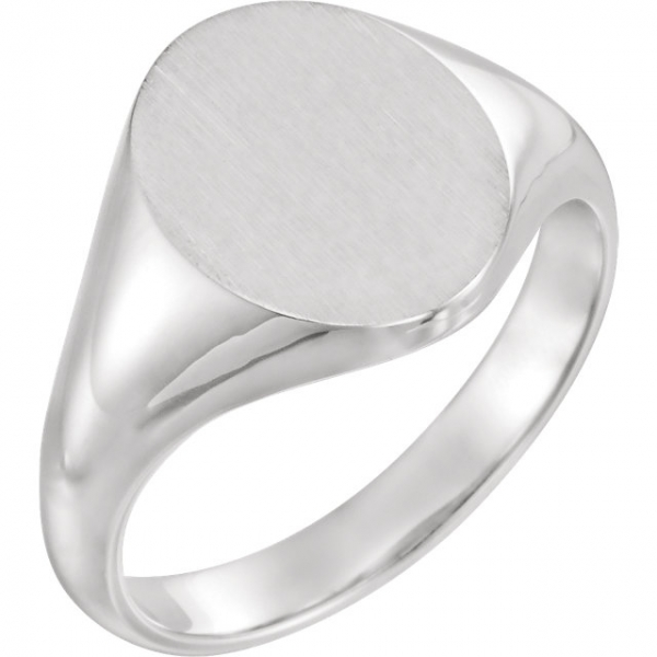 Rings - 18K White Gold Ring