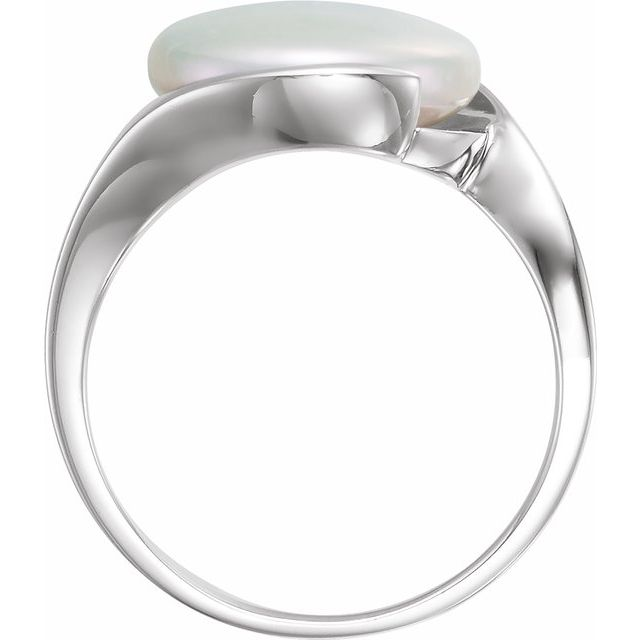 Gemstone Rings - Solitaire Ring for Coin Pearl - image #2