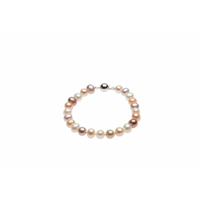 Bracelets - Multi-Color Freshwater Cultured Pearl Bracelet