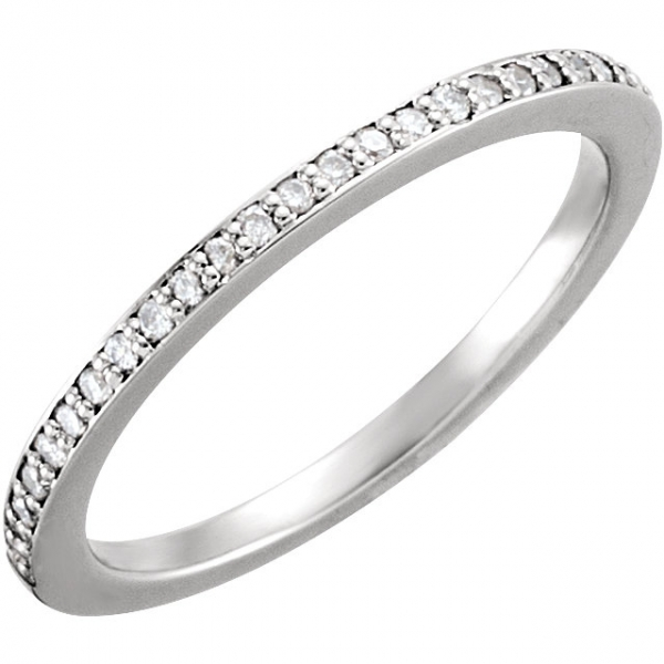 Wedding Bands - Halo-Style Engagement  Ring  Matching Band