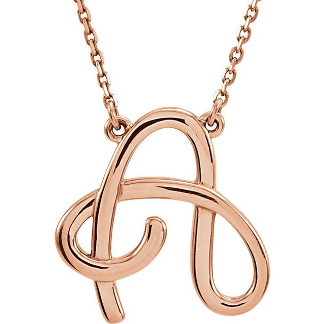 14K Rose Gold Necklace by Stuller