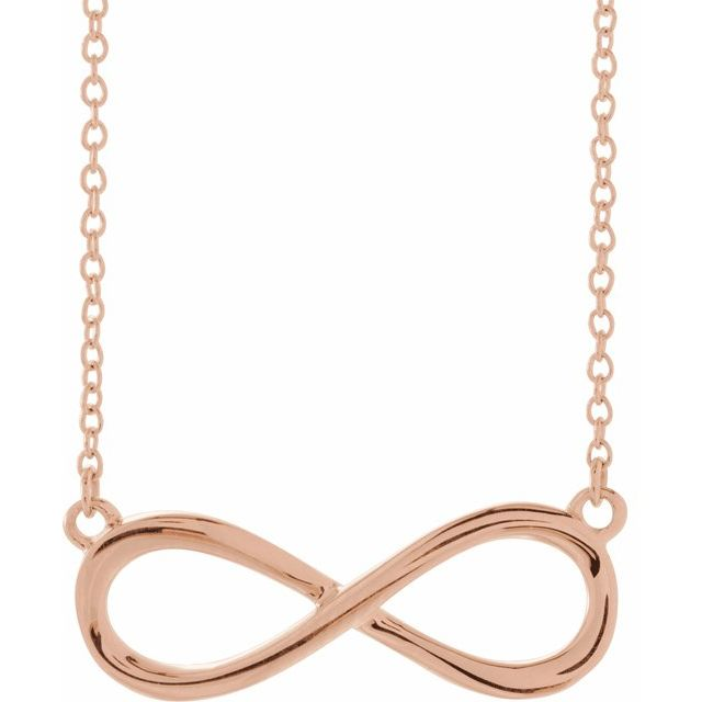 Necklaces - Infinity-Inspired Necklace