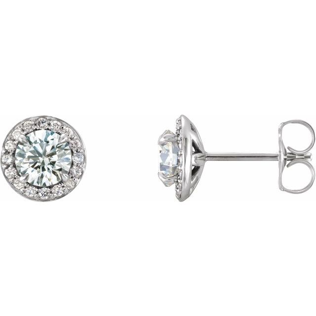 Genuine Diamond Earrings by Stuller