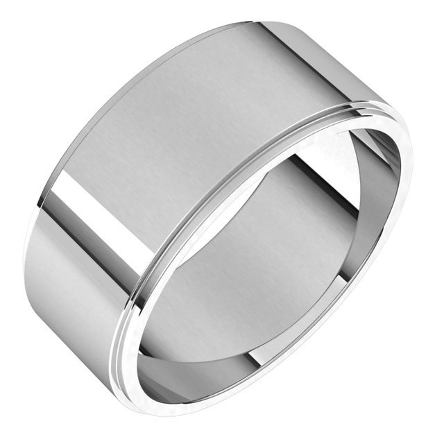 Wedding Bands - Flat Edge Bands