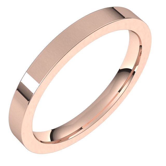 Wedding Bands - 2.5mm Wedding Band