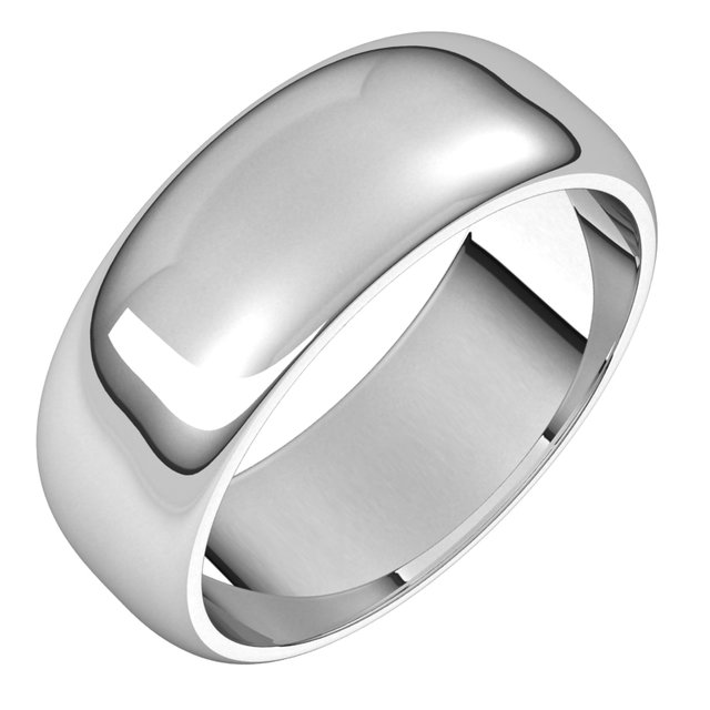 Wedding Bands - Half Round Bands