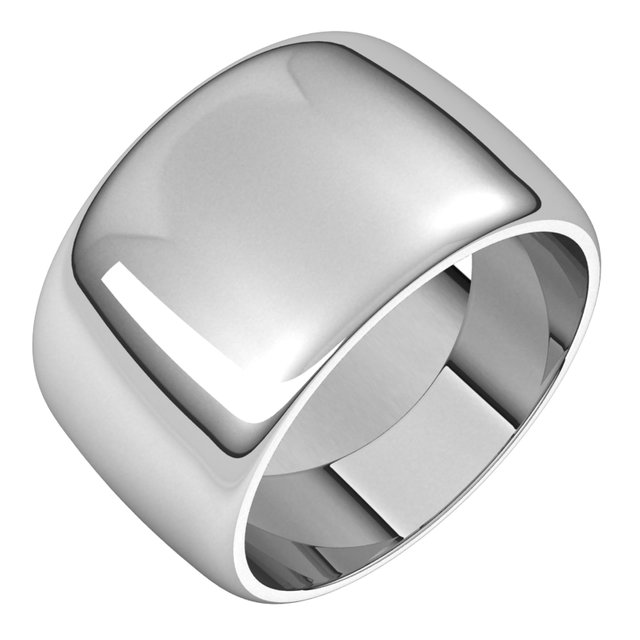 Mens Wedding Bands - 12mm Wedding Band