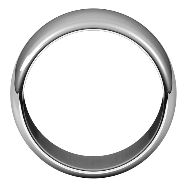 Mens Wedding Bands - 12mm Wedding Band - image #2