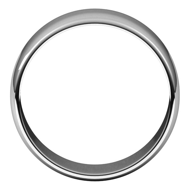 Wedding Bands - Half Round Light Bands - image #2