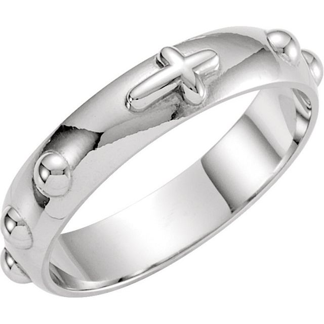 Engagement Rings - Rosary Ring