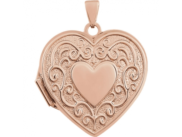 Pendants - 14K Rose Gold Pendant