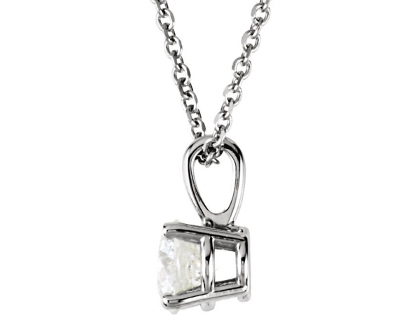 A diamond necklace from Grogan Jewelers can make a statement or be a sign of love for a friend or family member. S - image #2