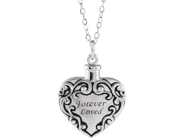 Necklaces - Forever Loved Ash Holder Necklace