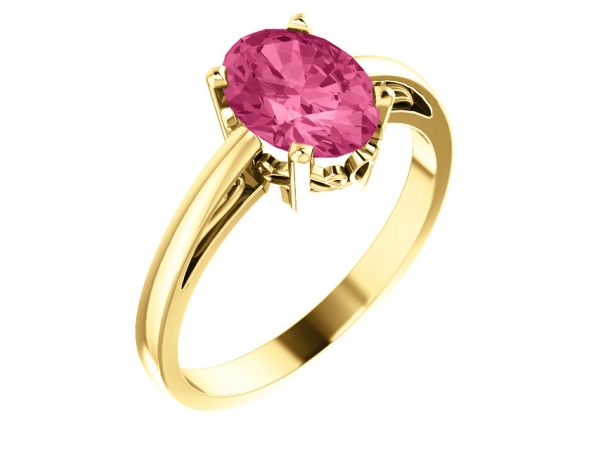 Fashion Rings - Solitaire Scroll Setting® Ring
