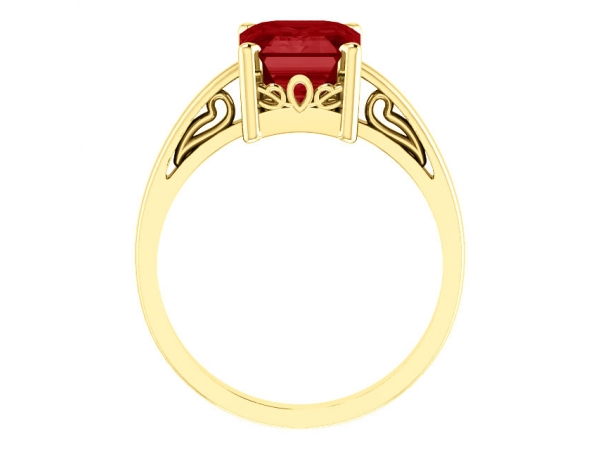 Fashion Rings - Scroll Setting® Ring - image #2