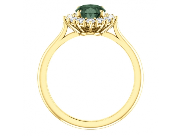 Fashion Rings - Halo-Style Ring  - image #2