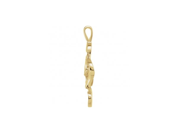 Pendants - 10K Yellow Gold Pendant - image 2