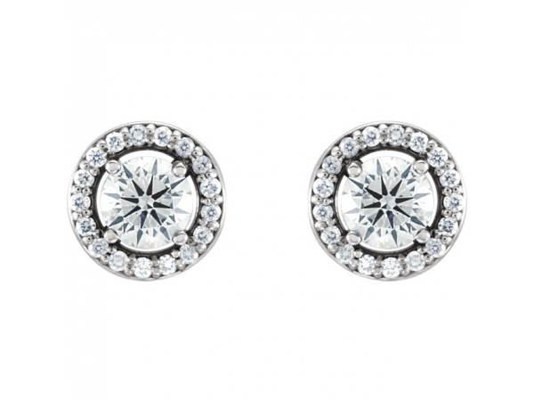 Diamond Earrings - Diamond Earrings - image 2
