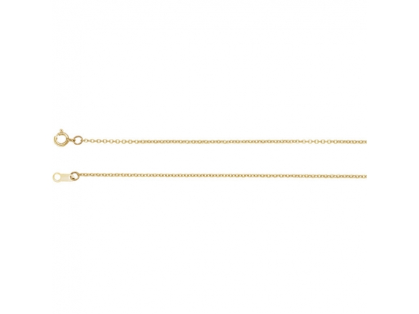 Bracelets - 14K Yellow Gold Chain Bracelet