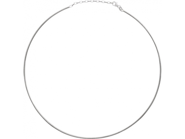 Necklaces - 2mm Round Omega Chain  - image #2