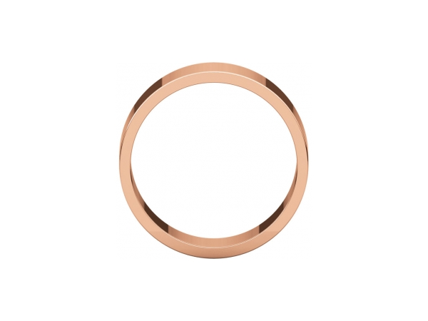 Wedding Rings - 8mm Wedding Band - image 2