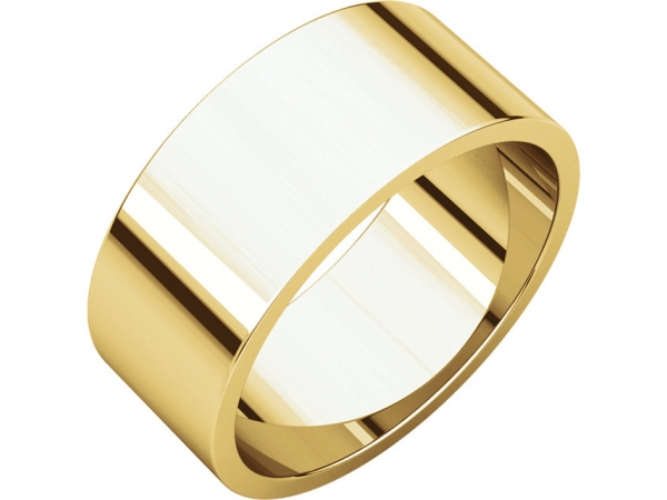 Men's Wedding Bands - Flat Bands
