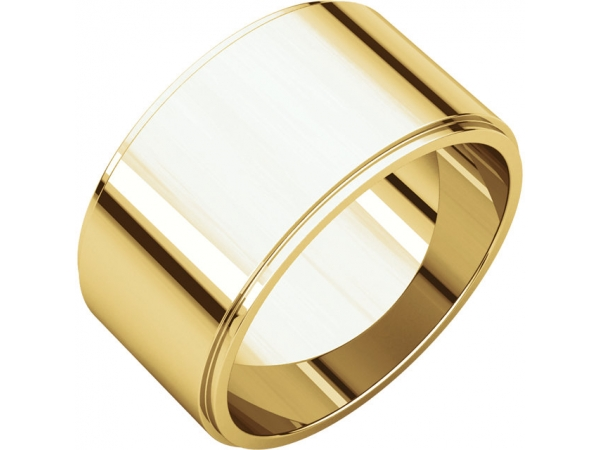 Wedding Bands - 10mm Wedding Band