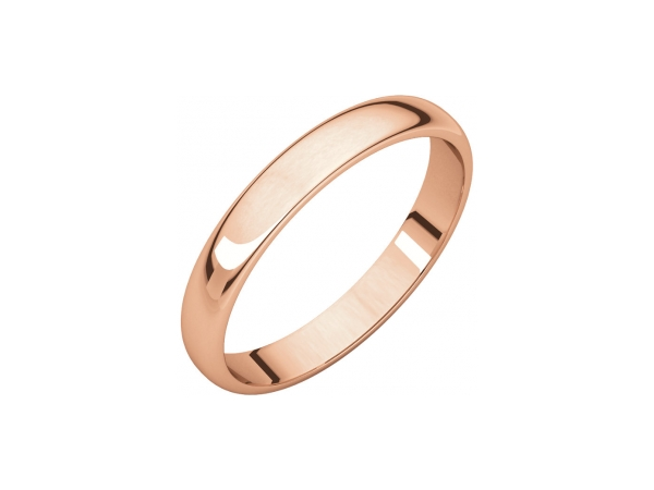 Men's Wedding Bands - 2.5mm Wedding Band