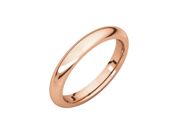 Men's Wedding Bands - 5mm Wedding Band - image #2