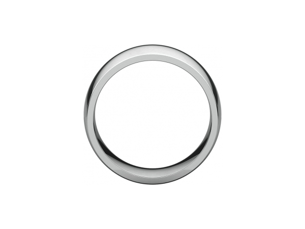 Wedding Rings - 10mm Wedding Band - image 2