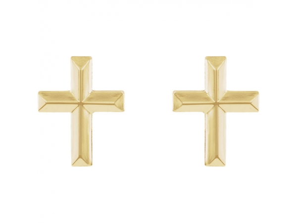 Earrings - Cross Earrings - image #2