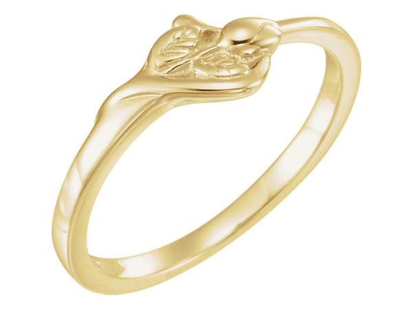 The Unblossomed Rose® Ring by DD Classics