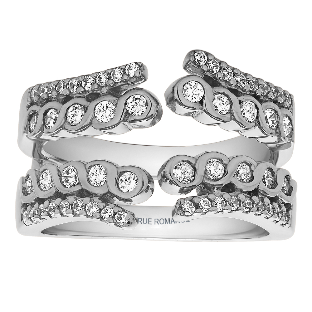 Solitaire Ring Guard/Enhancer Timmreck & McNicol Jewelers McMinnville, OR
