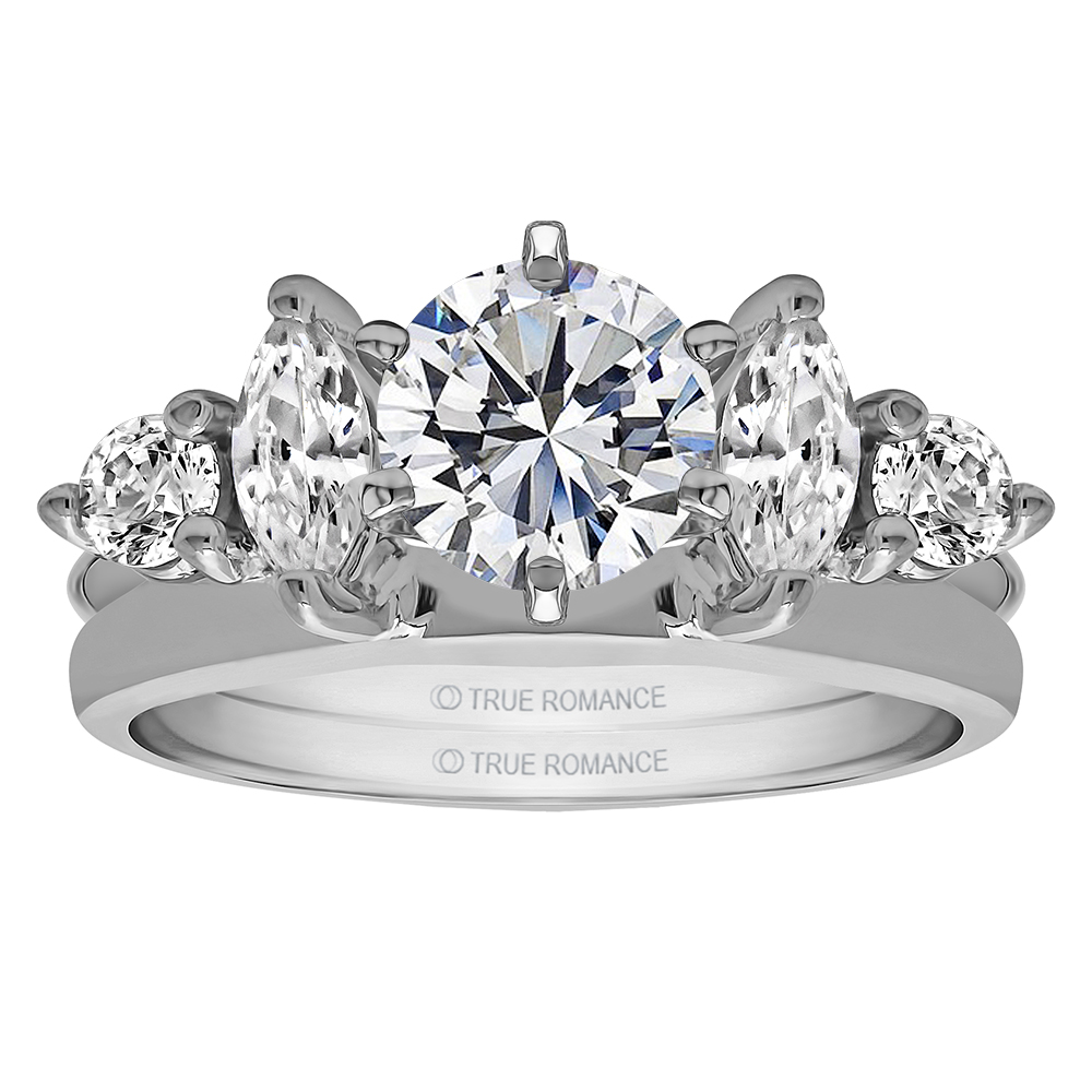 Solitaire Ring Wrap/Enhancer Image 2 Timmreck & McNicol Jewelers McMinnville, OR