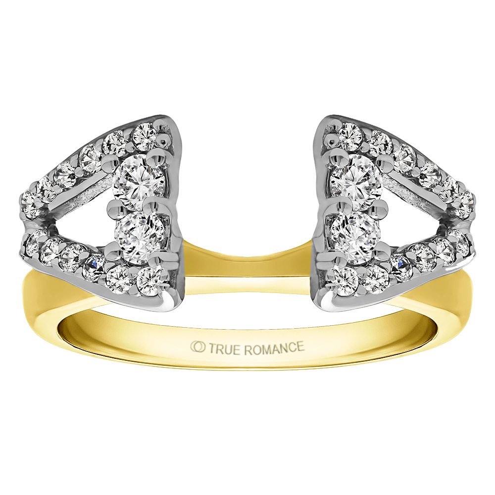 Solitaire Ring Wrap/Enhancer Image 3 Timmreck & McNicol Jewelers McMinnville, OR