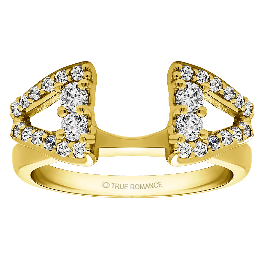Solitaire Ring Wrap/Enhancer Image 5 Timmreck & McNicol Jewelers McMinnville, OR