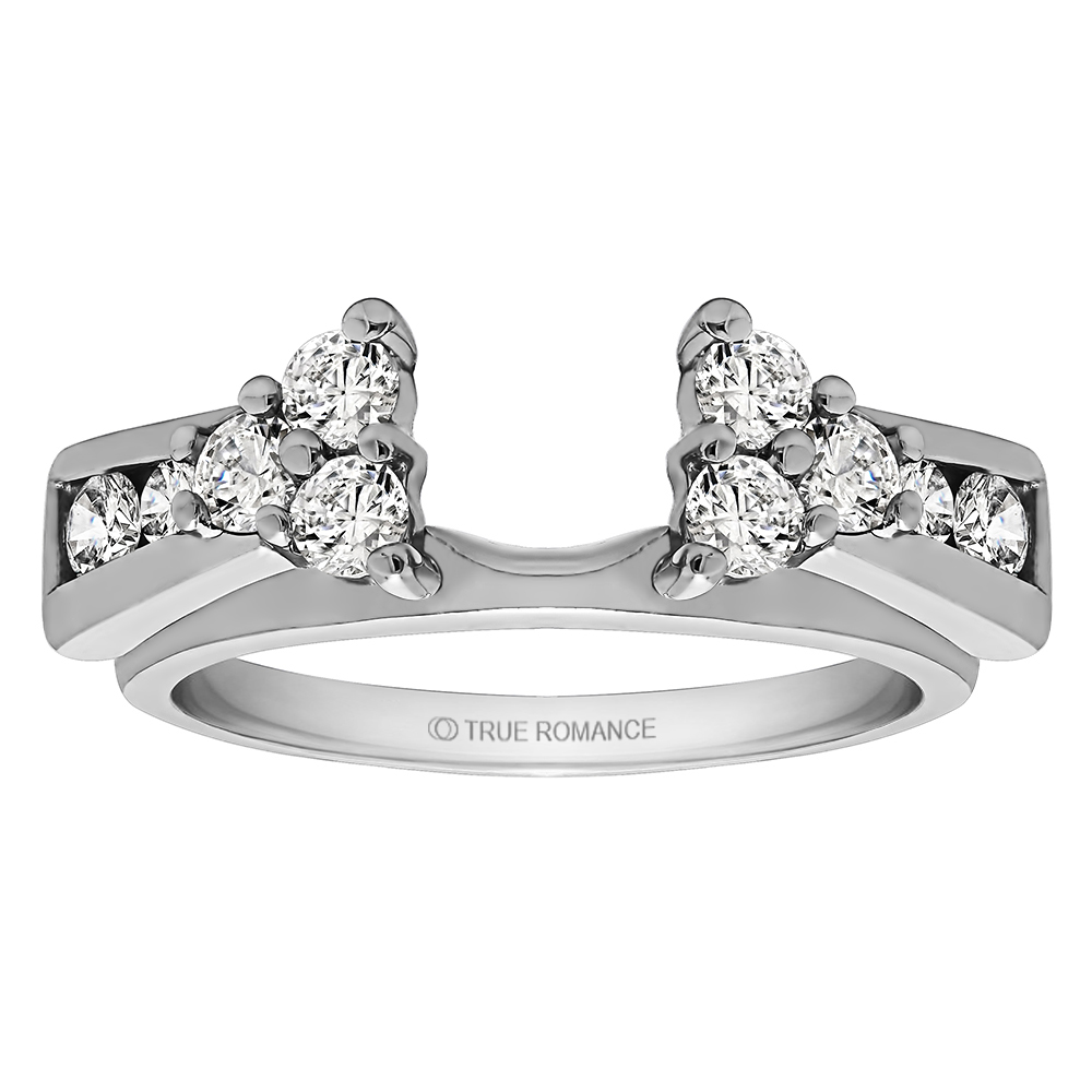 Solitaire Ring Wrap/Enhancer Timmreck & McNicol Jewelers McMinnville, OR